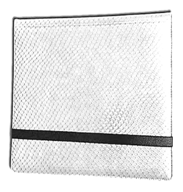12 Pocket Binder: White (Dragonhide)