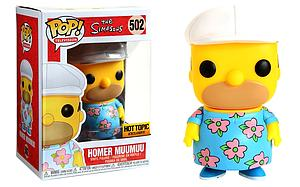Pop! Television The Simpsons Homer Muumuu #502 Hot Topic Exclusive