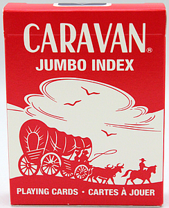 Playing Cards: Caravan Jumbo Index