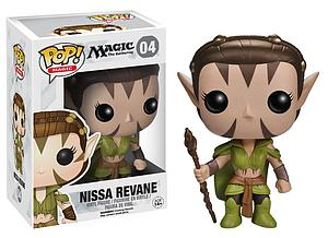 Pop! Magic the Gathering Vinyl Figure Nissa Revane #04 (Vaulted)