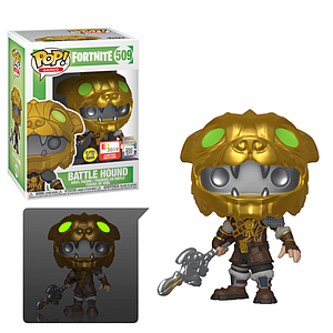 Pop! Games Fortnite Vinyl Figure Battle Hound (Glows in the Dark) #509 2019 E3 Exclusive