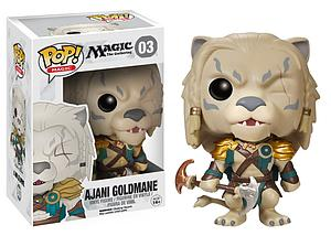 Pop! Magic the Gathering Vinyl Figure Ajani Goldmane #03 (Vaulted)