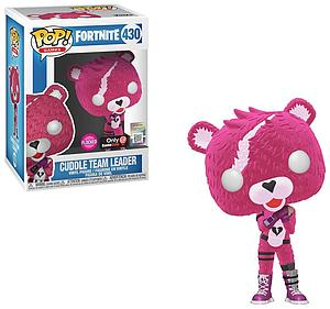 Pop! Games Fortnite Vinyl Figure Cuddle Team Leader #430 GameStop Exclusive (EB Games Sticker)