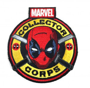 Pop! Patches Deadpool Patch Marvel Collector Corps Exclusive