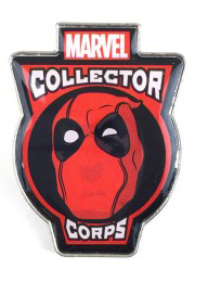 Pop! Pins Deadpool Pin Marvel Collector Corps Exclusive