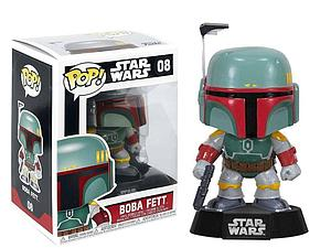 Pop! Star Wars Vinyl Bobble-Head Boba Fett #08