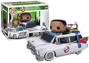Pop! Rides Movies Ghostbusters Vinyl Figure & Winston & Ecto-1 #04 (Vaulted)