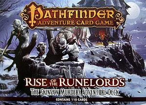 Pathfinder Adventure Card Game: Rise of the Runelords – The Skinsaw Murders Adventure Deck
