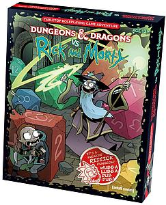 Dungeons & Dragons vs Rick & Morty