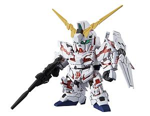 Gundam SD Gundam Cross Silhouette Model Kit: Unicorn Gundam (Destroy Mode)
