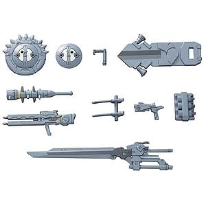 Gundam High Grade Build Custom 1/144 Scale Model Kit: #006 Hyper Gunpla Battle Support Weapons