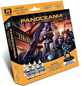 VALLEJO Infinity PanOceania Paint Set (Exclusive)
