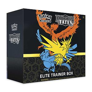 Pokemon Trading Card Game: Hidden Fates Elite Trainer Box