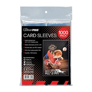 Card Sleeves 1000-pack Standard Size