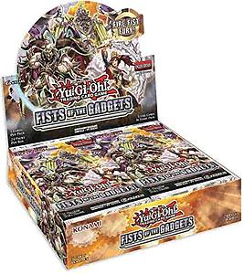 YuGiOh Trading Card Game Pack: Fists of the Gadget Booster Box
