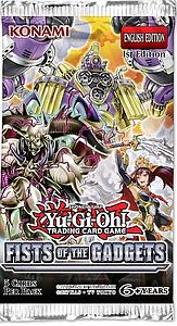 YuGiOh Trading Card Game Pack: Fists of the Gadget Booster Pack