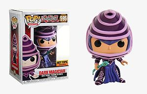 Pop! Animation Yu-Gi-Oh! Vinyl Figure Dark Magician #595 Hot Topic Exclusive