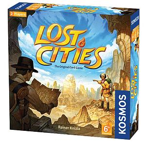 Lost Cities: The Original Card Game with 6th Expedition
