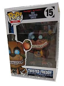 Pop! Books Five Nights at Freddy's: The Twisted Ones Vinyl Figure Twisted Freddy #15 ERROR