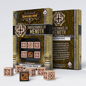 Warmachine Faction D6 Dice Set: Protectorate of Menoth