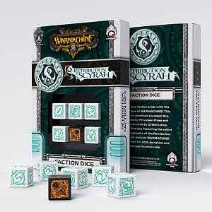 Warmachine Faction D6 Dice Set: Retribution of Scyrah