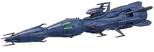 Star Blazers: Space Battleship Yamato 2199 Deusula the 2nd Core Ship Independent Command Vessel