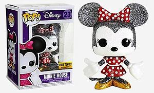 Pop! Disney Vinyl Figure Minnie Mouse (Diamond Collection) #23 Hot Topic Exclusive