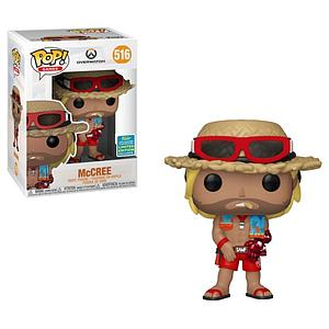 Pop! Games Overwatch Vinyl Figure McCree (Summer) #516 2019 Summer Convention Exclusive