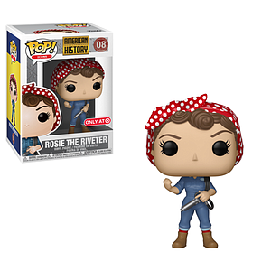Pop! Icons American History Vinyl Figure Rosie The Riveter #08 Target Exclusive