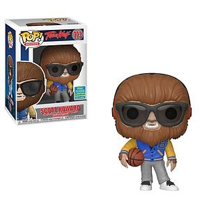 Pop! Movies Teen Wolf Vinyl Figure Scott Howard (Letterman Jacket) #773 2019 Summer Convention Exclusive (Substandard)