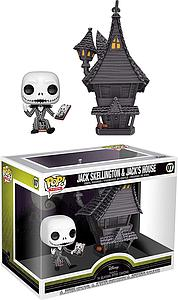 Pop! Town Disney The Nightmare Before Christmas Vinyl Figure Jack Skellington & Jack's House #07