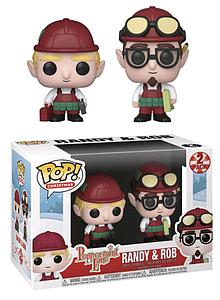 Pop! Christmas Peppermint Lane Vinyl Figure Randy & Bob (2-Pack)
