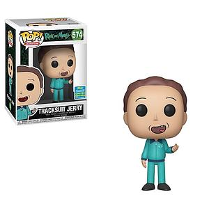 Pop! Animation Rick & Morty Vinyl Figure Tracksuit Jerry #574 2019 Summer Convention Exclusive