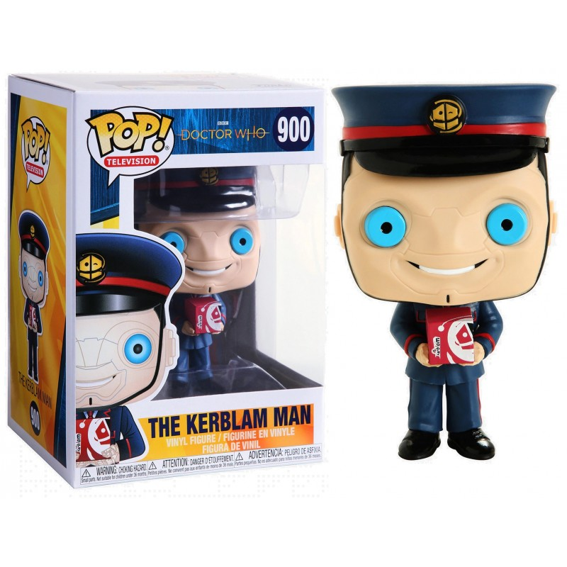 Pop! Television Doctor Who Vinyl Figure The Kerblam Man #900