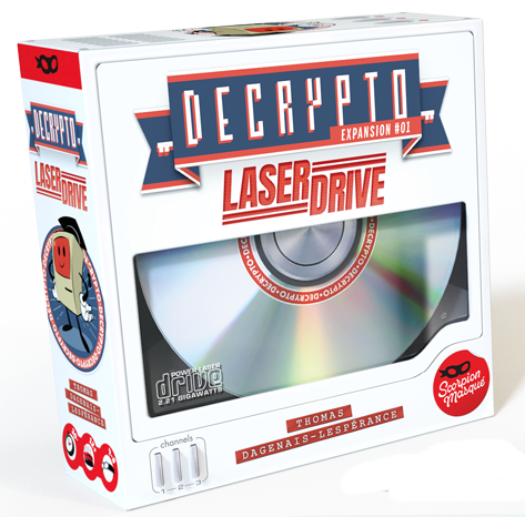 Decrypto: Laser Drive - Expansion #1