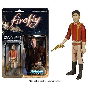 ReAction Figures Firefly Series Malcolm Reynolds (Vaulted)