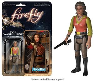 ReAction Figures Firefly Series Zoe Washburne