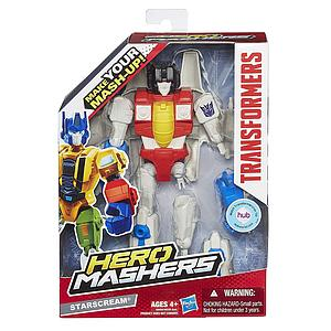 "Transformers Hero Mashers 6"" Action Figure Starscream"