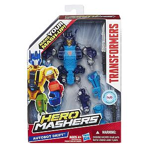 "Transformers Hero Mashers 6"" Action Figure Autobot Drift"