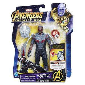 "Marvel Avengers Infinity War 6"" Action Figure Marvel's Falcon"
