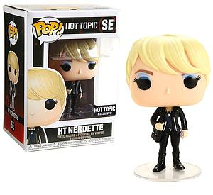 Pop! Hot Topic Vinyl Figure HT Nerdette #SE Hot Topic Exclusive