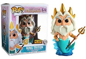Pop! Disney The Little Mermaid Vinyl Figure King Triton #570 Hot Topic Exclusive