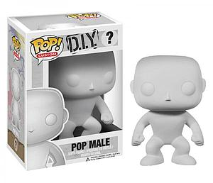 Pop! Custom DIY Vinyl Figure Blank Male #?