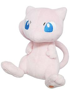 "Pokemon All Star Collection Plush: Mew (6.5"")"