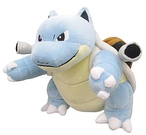 "Pokemon All Star Collection Plush: Blastoise (7"")"