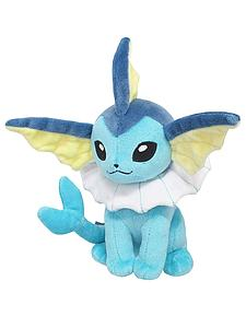 "Pokemon All Star Collection Plush: Vaporeon (7"")"