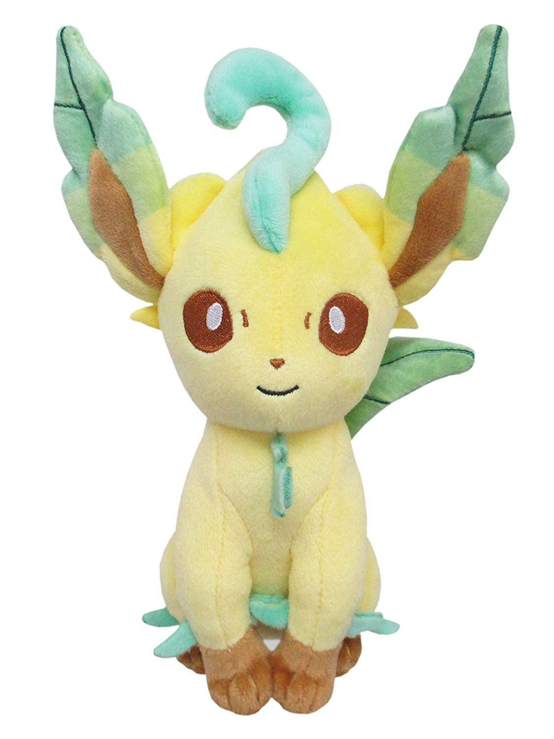 "Pokemon All Star Collection Plush: Leafeon (7"")"
