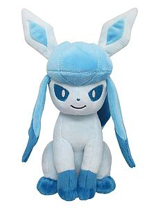 "Pokemon All Star Collection Plush: Glaceon (7"")"