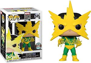 Pop! Marvel 80 Years Vinyl Bobble-Head Electro (1st Appearance) Specialty Series