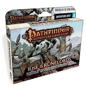 Pathfinder Adventure Card Game: Rise of the Runelords - Fortress of the Stone Giants Adventure Deck